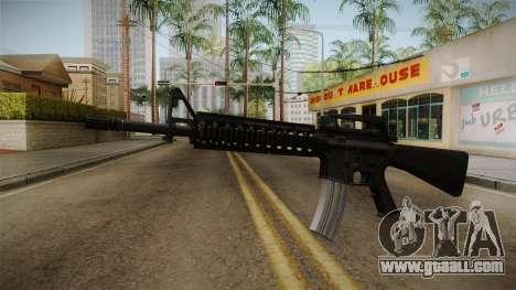 Battlefield 3 - M16 v2 for GTA San Andreas