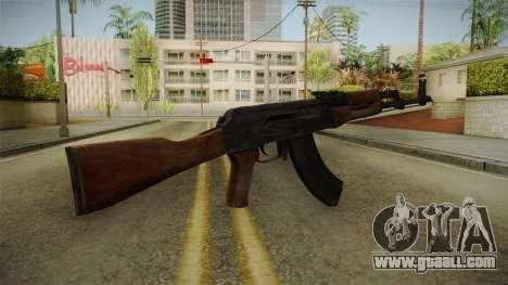 GTA 5 Gunrunning AK47 for GTA San Andreas second screenshot