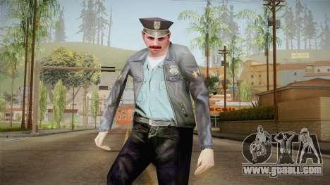 Driver PL Police Officer v1 for GTA San Andreas