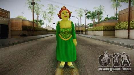 Princess Fiona Ogre for GTA San Andreas second screenshot