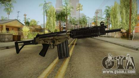DSA FAL Camo Variant for GTA San Andreas