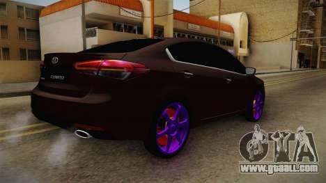 Kia Cerato Eccentric for GTA San Andreas left view