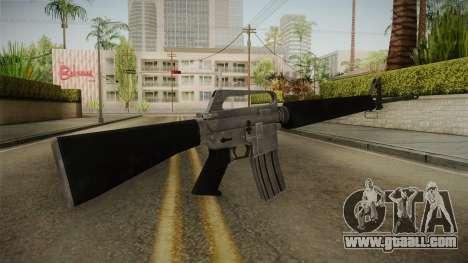 M16A1 Assault Rifle for GTA San Andreas third screenshot