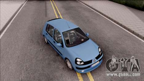 Renault Clio v2 for GTA San Andreas right view