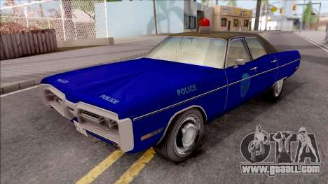 Plymouth Fury 1972 Housing Authority Police for GTA San Andreas