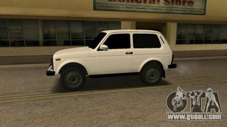 VAZ 2121 ARM for GTA San Andreas left view