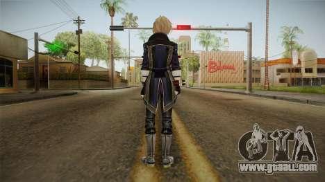 God Eater 2: Rage Burst - Julius Visconti for GTA San Andreas third screenshot