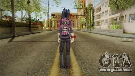 God Eater 2: Rage Burst - Yoshino Kouzuki for GTA San Andreas third screenshot