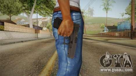 Glock 18 3 Dot Sight Pink Magenta for GTA San Andreas third screenshot