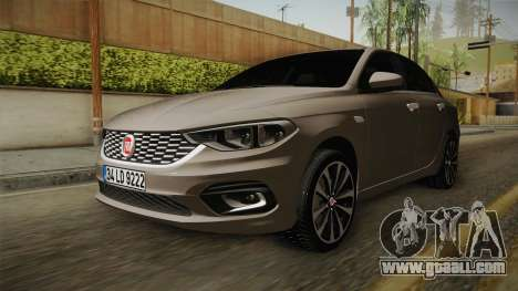 Fiat Egea Tipo 2016 for GTA San Andreas right view