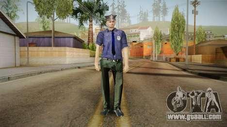 Driver PL Police Officer v3 for GTA San Andreas second screenshot