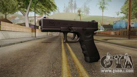Glock 17 3 Dot Sight Pink Magenta for GTA San Andreas