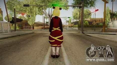 Yamame Touhou for GTA San Andreas third screenshot