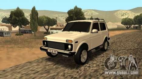 Lada Niva Urban Armenian for GTA San Andreas