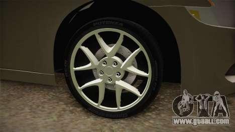 Nissan Maxima 2011 for GTA San Andreas back view