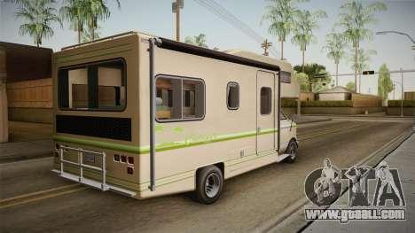 GTA 5 Brute Camper for GTA San Andreas left view