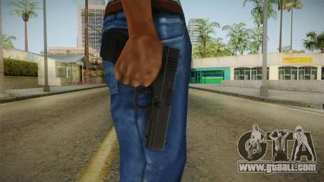 Glock 18 3 Dot Sight Green for GTA San Andreas third screenshot