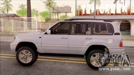 Lexus LX470 2003 for GTA San Andreas left view