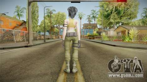The King of Fighters XIV - Leona for GTA San Andreas third screenshot