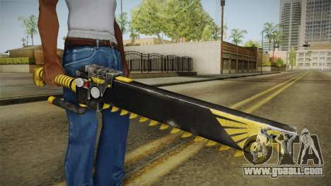 W40K: Deathwatch Chain Sword v2 for GTA San Andreas