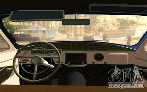 GAZ 21 Limousine v2.0 for GTA San Andreas side view