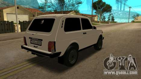 VAZ 2121 ARM for GTA San Andreas back left view