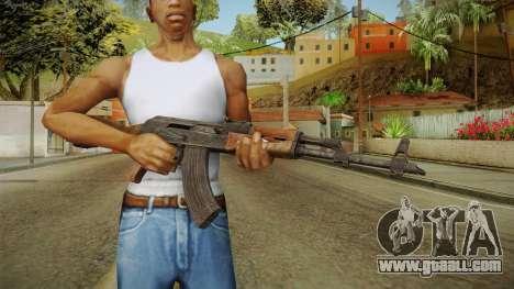 AKM Assault Rifle v1 for GTA San Andreas third screenshot
