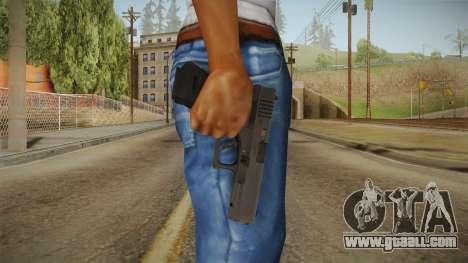 Glock 17 3 Dot Sight Blue for GTA San Andreas third screenshot