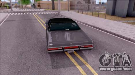 Mercury Marquis 1971 for GTA San Andreas back left view
