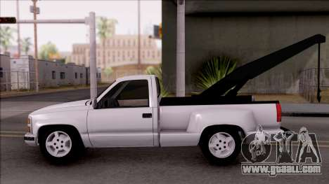 Chevrolet Grand Blazer Towtruck for GTA San Andreas left view