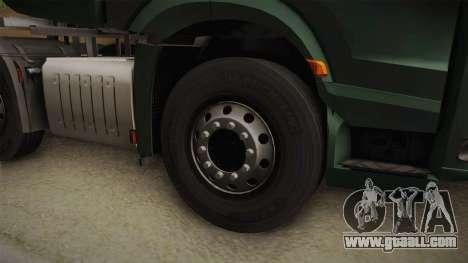 Mercedes-Benz Arocs SLT 4163 8x4 Euro 6 v2 for GTA San Andreas back view