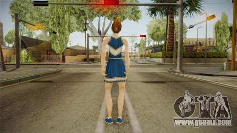 Mandy Wiles from Bully Scholarship for GTA San Andreas third screenshot