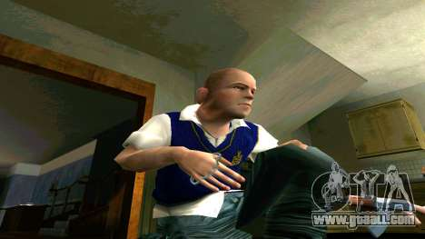 Skin HD Jimmy Hopkins (Bully) for GTA San Andreas fifth screenshot