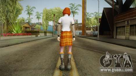 Zoe Taylor from Bully Scholarship v2 for GTA San Andreas third screenshot