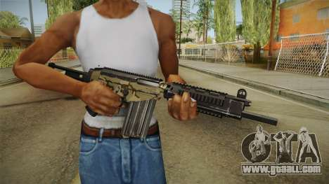 DSA FAL Camo Variant for GTA San Andreas third screenshot