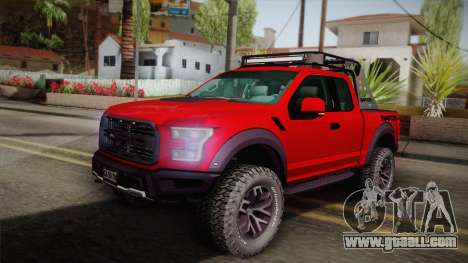 Ford F-150 Raptor 2017 for GTA San Andreas