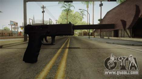 Glock 21 3 Dot Sight with Long Barrel for GTA San Andreas