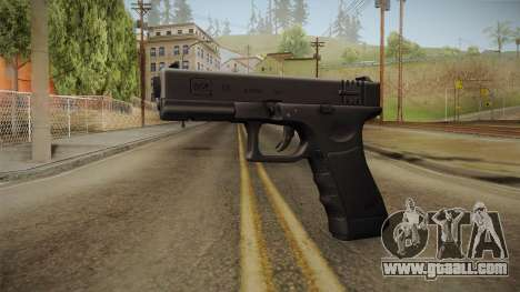 Glock 18 Blank Sight for GTA San Andreas