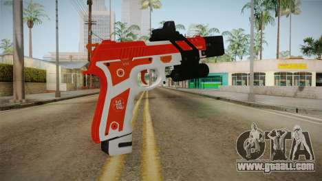 Gunrunning Pistol v2 for GTA San Andreas second screenshot