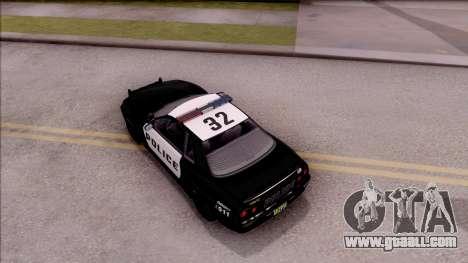 GTA V Annis Elegy Retro Interceptor for GTA San Andreas back view