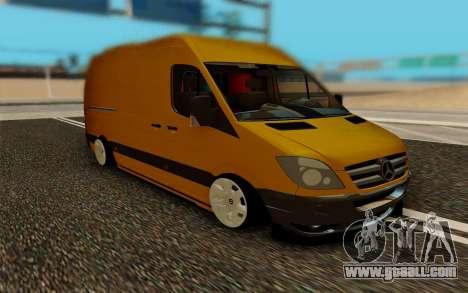 Mercedes Sprinter for GTA San Andreas