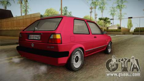 Volkswagen Golf Mk2 J for GTA San Andreas
