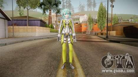 Sinon Skin v1 for GTA San Andreas second screenshot