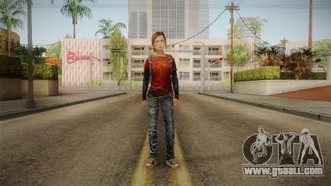 Ellie Tlou v1 for GTA San Andreas second screenshot