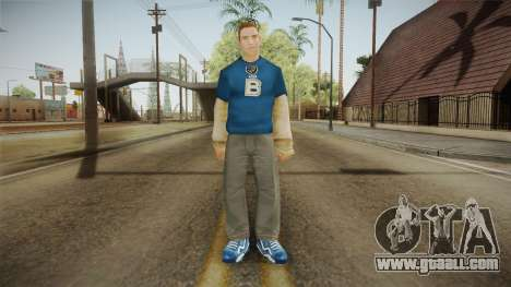 Juri Karamazov from Bully Scholarship for GTA San Andreas second screenshot