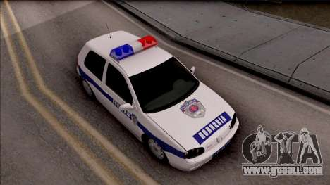 Volkswagen Golf 4 GTI Policija for GTA San Andreas right view