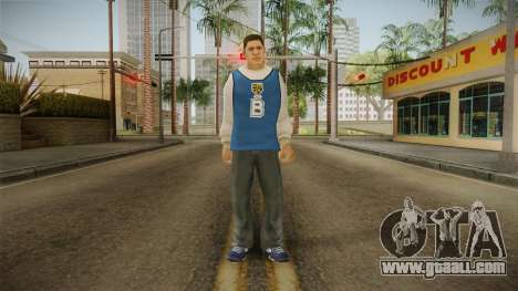 Luis Luna from Bully Scholarship for GTA San Andreas second screenshot