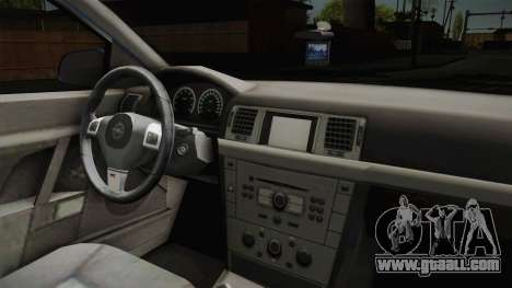 Opel Vectra C for GTA San Andreas inner view