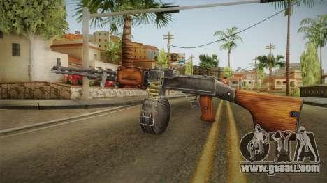 Battlefield Vietnam - RPD Light Machine Gun for GTA San Andreas third screenshot
