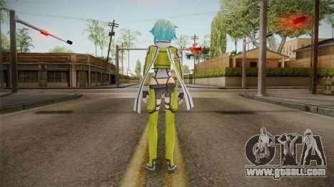 Sinon Skin v1 for GTA San Andreas third screenshot